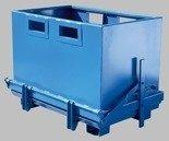 DOSTAWA GRATIS! 35960459 Kontener z otwieranym dnem do wózka widłowego (pojemność: 1000 L)