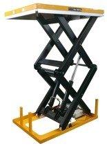 DOSTAWA GRATIS! 44366760 Profesjonalna platforma, stół podnośny dwunożycowy (udźwig: 2000kg, wymiary platformy: 1300x850 mm, wysokość podnoszenia min/max: 360-1780 mm)