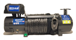 DOSTAWA GRATIS! 51971658 Wyciągarka Husar z liną syntetyczną 24V (uźwig: 10000lbs / 4536 kg, długość liny: 28m)