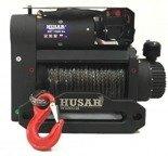 DOSTAWA GRATIS! 51971665 Wyciągarka Husar z liną syntetyczną, Podwójny silnik (uźwig: 12000lbs / 5443 kg, długość liny: 50m)