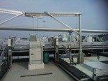 DOSTAWA GRATIS! 53372541 Żuraw ze stopą i wciągarką ręczną z liną AISI316 16m (udźwig: 300 kg, wysokość podnoszenia: 3000 mm)