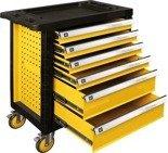 DOSTAWA GRATIS! 65669913 Wózek, szafka serwisowa, 6 szuflad (wymiary: 90,1x77x45,8 cm)