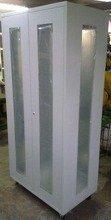 DOSTAWA GRATIS! 77157251 Szafa narzędziowa przeszklona na kółkach (wymiary: 2000x970x600 mm)