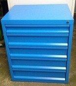 DOSTAWA GRATIS! 77157282 Szafa narzędziowa, 5 szuflad (wymiary: 840x700x560 mm)