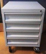 DOSTAWA GRATIS! 77170784 Szafka z 4 szufladami na kółkach (wymiary: 700x600x600 mm)