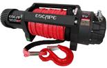 DOSTAWA GRATIS! 81874471 Wyciągarka Escape EVO 12500 lbs [5670 kg] IP68 z liną syntetyczną czerwoną 24V (średnica liny: 10mm, długość liny: 25m)