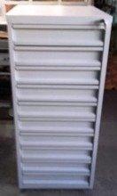 Szafa narzędziowa, 10 szuflad (wymiary: 1200x600x600 mm) 77170816