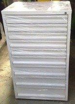 Szafa narzędziowa, 9 szuflad (wymiary: 1200x700x500 mm) 77157259