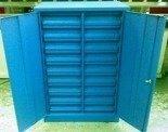 Szafka narzędziowa, 18 szuflad (wymiary: 1250x800x500 mm) 77157206