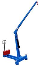 Tretok 61755419 Żuraw hydrauliczny ręczny z przeciwwagą (udźwig: od 130 do 300 kg)