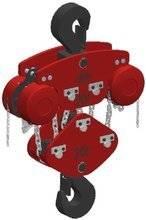 Wciągnik łańcuchowy przejezdny (wysokość podnoszenia: 5m, szerokość belki: 6, udźwig: 20 T) 22077036