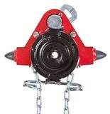 Wózek jednobelkowy z napędem ręcznym (wysokość podnoszenia: 3m, szerokość stopy belki: 125-185mm, udźwig: 10 T) 22076975