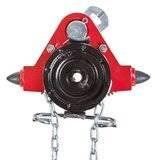 Wózek jednobelkowy z napędem ręcznym (wysokość podnoszenia: 3m, szerokość stopy belki: 125-185mm, udźwig: 7,5 T) 22076974