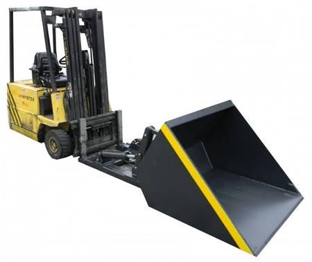 Szufla hydrauliczna na widły (pojemność łyżki: 0,60 m³, szerokość łyżki: 1300 mm) 29076512