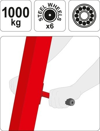 65669901 Żuraw warsztatowy (udźwig: 1000 kg)