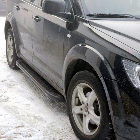 DOSTAWA GRATIS! 01665134 Stopnie boczne, czarne - Toyota C-HR 2016+ (długość: 182 cm)