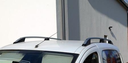 DOSTAWA GRATIS! 01672107 Relingi dachowe do Fiat Doblo 2010- ALU Long (Pasują do wersji MAXI)