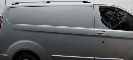 DOSTAWA GRATIS! 01672111 Relingi dachowe do Ford Transit Custom 2012- long SPORT ALU