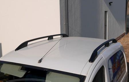 DOSTAWA GRATIS! 01672114 Relingi dachowe do Ford Transit Connect 2014- BLACK