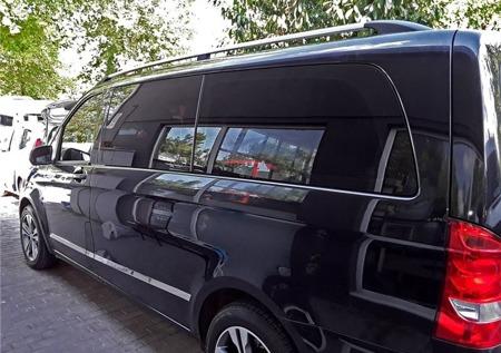 DOSTAWA GRATIS! 01672123 Relingi dachowe do Mercedes Vito W639 W447 SOLID alu long