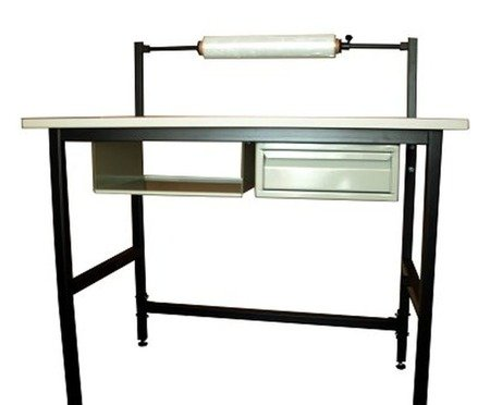 DOSTAWA GRATIS! 05971706 Stół do pakowania (wymiary blatu: 120x70 mm)