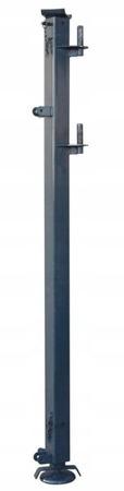 DOSTAWA GRATIS! 08172274 Wciągarka elektryczna linowa budowlana Minor Millennium 325 + Podpory + Wysoki maszt (udźwig: 325 kg)