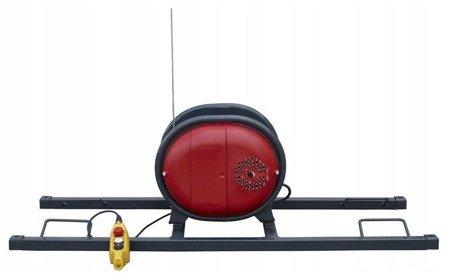 DOSTAWA GRATIS! 08174746 Wciągarka linowa podnośnik + szyna H + lina 30m + sterowanie 15m (udźwig: 325 kg)