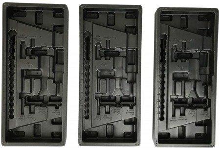 DOSTAWA GRATIS! 16069995 Wózek, szafka narzędziowa, 7 szuflad + wkładki (wymiary: 985x766x465 mm)
