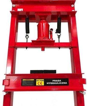 DOSTAWA GRATIS! 16070013 Prasa hydrauliczna (nacisk: 20 T)