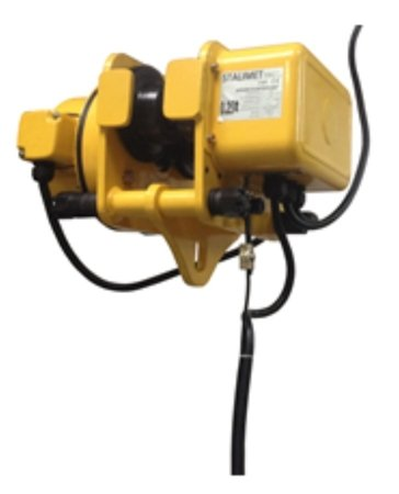 DOSTAWA GRATIS! 33972615 Wciągarka bramowa skręcana miproCrane DELTA 300, wciągnik łańcuchowy elektryczny zintegrowany z wózkiem + kaseta sterująca (udźwig: 2000 kg, wysięg: 5000 mm, wysokość podnoszenia: 4080 mm)
