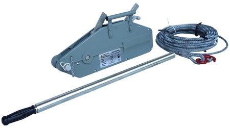 DOSTAWA GRATIS! 44366780 Wciągarka linowa uniwersalna, rukcug (udźwig: 3200 kg, długość liny: 20m)