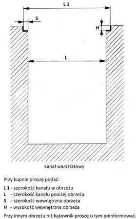 DOSTAWA GRATIS! 48871645 Podnośnik kanałowy, TIR (udźwig: 16T)