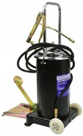 DOSTAWA GRATIS! 56671620 Towotnica smarownica nożna z pedałem + wąż 4m (pojemność: 15L, wydajność: 6 g/cykl)