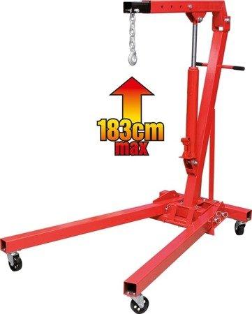 DOSTAWA GRATIS! 65669899 Żuraw warsztatowy (udźwig: 600 kg)