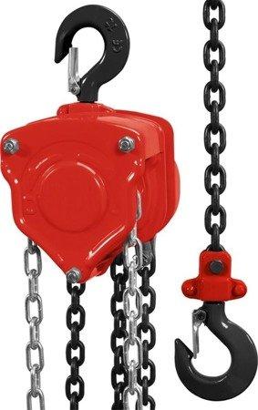 DOSTAWA GRATIS! 65669902 Wciągnik łańcuchowy (udźwig: 5,0 T, długość łańcucha: 3m)