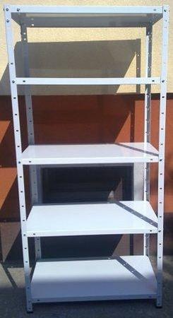 DOSTAWA GRATIS! 77170607 Regał metalowy, 5 półek (wymiary: 2500x1180x700 mm, obciążenie półki: 60 kg)