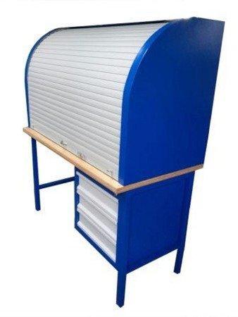 DOSTAWA GRATIS! 77170641 Stół warsztatowy z roletą (wymiary: 1500x700x900/1800 mm)