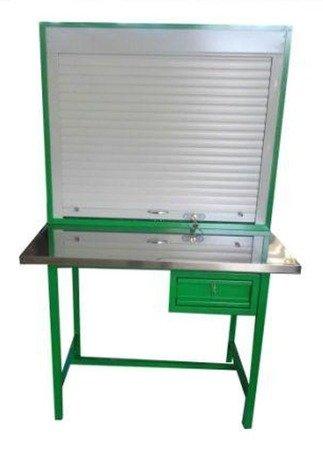 DOSTAWA GRATIS! 77170642 Stół warsztatowy z roletą (wymiary: 1200x600x900/1800 mm)