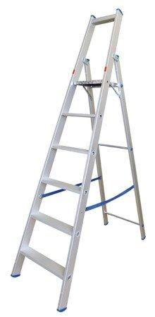 DOSTAWA GRATIS! 99674674 Drabina magazynowa 11 stopniowa Drabex (wysokość robocza: 4,86m)