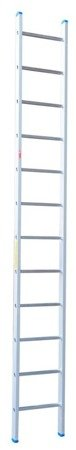 DOSTAWA GRATIS! 99674718 Drabina aluminiowa opieralna anodowana Drabex 12 stopniowa (wysokość robocza: 5,00m)