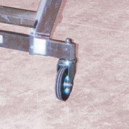 DOSTAWA GRATIS! 99675052 Drabina magazynowa jezdna FARAONE (wysokość robocza: 3,26m)