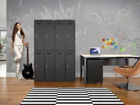 Gorek Szafka ubraniowa socjalna 2 komory (wymiary: 1800x300x500 mm) 09276038