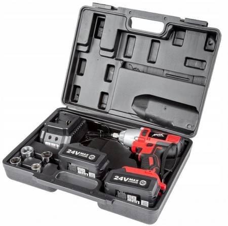 LETA Klucz udarowy akumulatorowy 2 akumulatory (napięcie zasilania: 24V DC, max moment obrotowy: 280Nm) 21777650