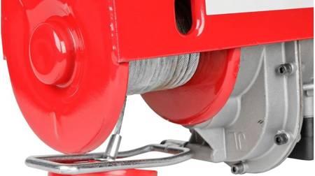 LETA Wyciągarka elektryczna linowa + rama ramie 750/1100mm (uźwig: 400/800 kg, maks, wysokosć podnoszenia: 12/6 m, moc: 2000 W) 21777647