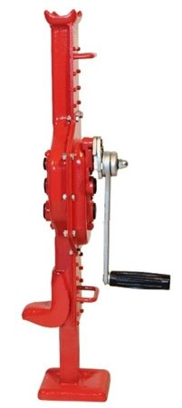 Podnośnik kolejowy ze stópką przymocowaną na stałe (udźwig: 1,5 T) 03076140