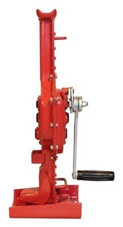 Podnośnik korbowy, kolejowy z grzechotką raku (udźwig: 5000 kg) 0301345