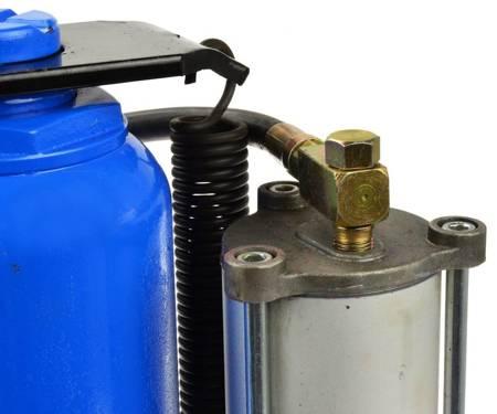 Podnośnik samochodowy hydrauliczno-pneumatyczny (udźwig: 20 T, wysokość min/max: 260/510 mm) 56676243