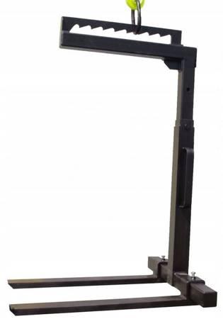 Reflow Widły do palet Grzebieniowe + Hak 5 T (udźwig wideł: 2000 kg, długość łapy: 1000 mm) 16976575