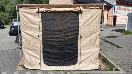 Ściany do zadaszenia bocznego z podłogą TYP 1 (rozmiar: 2,5 x 2,5m, kolor: piaskowy) 81877938