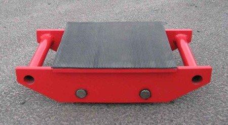 Stalmechon Wózek stały do transportu maszyn, urządzeń i sprzętu (rolki: 4x poliamid, nośność: 4,5 ton) 50276378